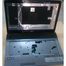 Корпус в сборе с петлями матрицы Acer 7540g