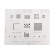Трафарет MAC 7 Apple MacBook A1989 A1990 A2159