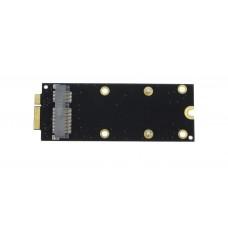 Адаптер для подключения mSATA SSD в Apple Macbook Pro A1398 A1425 2012 early 2013