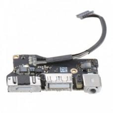 "Плата питания I/O Power Board 820-3214-A MagSafe2 Apple Macbook Air 13"" A1466 2012"