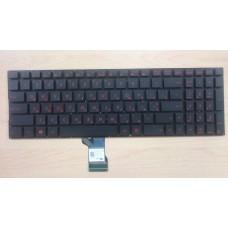 Клавиатура Asus G501 G501J G501JW G501V G501VW N501 N501J N501JW N501V N501VW Q501 UX501 UX501JW N541 красные кнопки с подсветкой