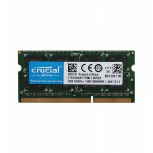 Оперативная память для ноутбука Crucial SO-DIMM DDR3L 4Gb 1600MHz pc-12800