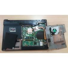 Ноутбук DNS C4505 корпус в сборе с материнской платой БЕЗ матрицы, АКБ, клавиатуры