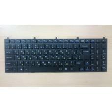 Клавиатура для ноутбука DNS C5500 118732 W765K W76T CLEVO K107 с рамкой