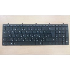 Клавиатура DNS CLEVO W370 W370ET W370SY W350 W670 с рамкой и подсветкой