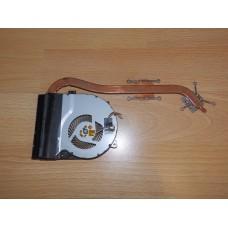 Термотрубка (радиатор) + кулер (вентилятор) Asus X550CC 13N0-PHA0101 13NB00W1AM0101