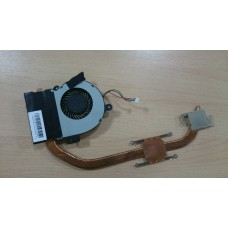 Система охлаждения термотрубка и вентилятор Asus X55VD 13GN5O1AM010-1