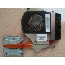 Термотрубка (радиатор) + кулер (вентилятор) HP G62