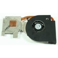 Термотрубка (радиатор) + кулер (вентилятор) Packard Bell LJ67 Gateway NV74 KBYF0 AT07C0060R0 AD5505HX-EB3