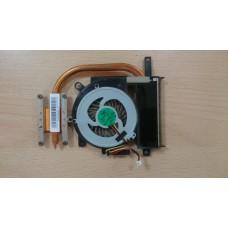 Термотрубка радиатор + кулер вентилятор Sony Vaio SVE15 3VHK5TMN050 Quanta HK5 MBX-269 UMA