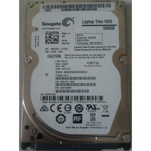 """HDD 2.5"""" Seagate Momentus Thin ST500LT012 500GB SATA"""