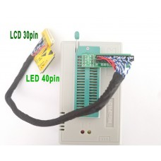 Кабель адаптер EDID для прошивки матриц 40 pin LVDS LED и 30 pin CCFL