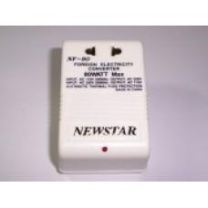 Преобразователь напряжения Newstar NF-80 220/110В или 110/220В 80 Вт