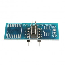Адаптер для программатора SOP16/8-DIP8