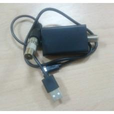 Усилитель ТВ сигнала антенны USB 25 дБ 75 Ом