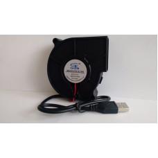 USB вентилятор кулер 7530s 75 мм