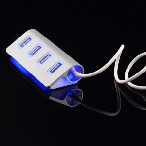 Разветвитель хаб сплиттер USB 2.0 4 порта