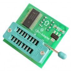 Адаптер переходник преобразователь 3.3 В в 1.8 В для Flash SOP8 DIP8 программаторов TL866 EZP2010 EZP2013 CH341