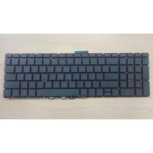 Клавиатура HP Pavillion 15-ab 15-ae 15-ak 15-au 15-bc 15-cc 15-cd 15z-ab 17-ab 17-g HP Omen 15-ax 15-cb с подсветкой красные кнопки