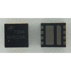 AON7934 30V Dual Asymmetric N-Channel DFN 3x3