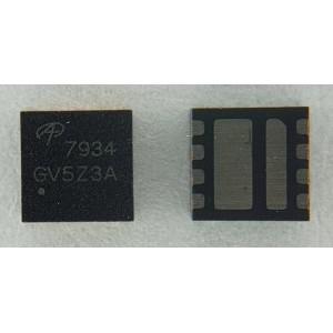 Мосфет AON7934 30V Dual Asymmetric N-Channel DFN 3x3