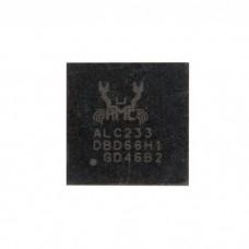 Микросхема аудио кодек ALC233 QFN-48