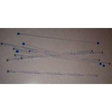Кабель шлейф плоский FFC/FPC шаг 1 мм 200 мм 4 пин прямой
