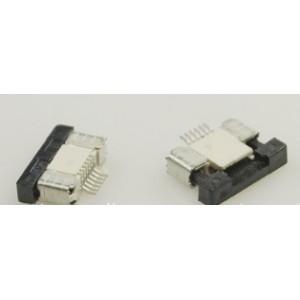 Разъем для плоского шлейфа 6 пин шаг 0.5 мм контакты снизу