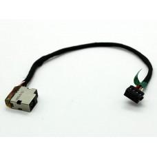 Разъем питания  HP Envy 14 15-e 15t-e 17-e 15-j серии 8pin CBL00360-0150 709802-YD1 с кабелем 14.5 см