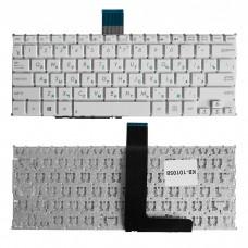 Клавиатура для ноутбука Asus Vivobook X200 F200 F200L F200M K200M X200C X200L X200M белая