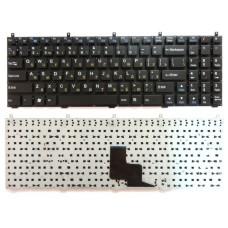 Клавиатура для ноутбука DNS C5500 118732 W765K W76T CLEVO K107 Без рамки