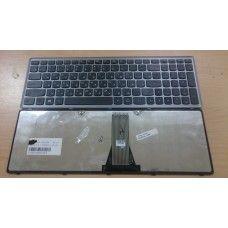 Клавиатура для ноутбука Lenovo Flex 15 Flex 15D G500s G505s S510p Z510 серая рамка