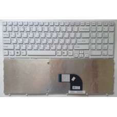 Клавиатура для ноутбука Sony Vaio SVE15 SVE151 White