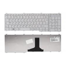 Клавиатура для ноутбука Toshiba Satellite C650 C650D C655 C660 L650 L650D L655 L670 L675 L750 L750D L755 L775 белая