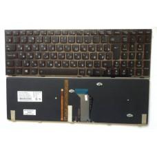 Клавиатура для ноутбука Lenovo Y590 Y500 Y510p c подсветкой