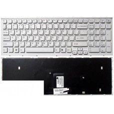 Клавиатура для ноутбука Sony Vaio VPCEB VPC-EB белая