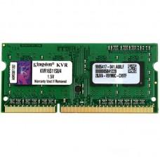 Оперативная память Kingston SO-DIMM 4GB DDR3 1600Mhz PC3-12800