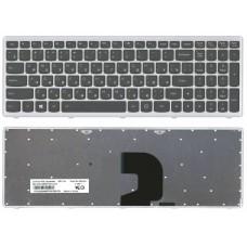 Клавиатура Lenovo IdeaPad Z500 P500 9Z.N8RSC.40R серебряная рамка