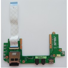 Asus Eee PC 1201HA USB Audio Card Reader плата 08G2012HC20C 60-0A1RI02000-A02