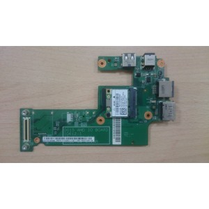 Плата USB POWER LAN Dell Inspiron M5010 DG15 AMD IO BOARD 10612-1 48.4HH20.011