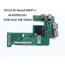 Плата USB POWER LAN Dell Inspiron N5010 DG15 IO BOARD 09697-1 48.4HH02.011