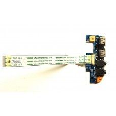 Плата AUDIO и USB с шлейфом Acer Aspire 4741 4551 eMachines D440 D640 HM42_CP USB BD 09736-3 48.4GW02.031
