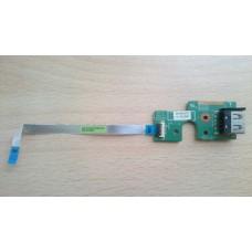 Плата USB 48.4TE08.011 Lenovo B590 V580 V580c со шлейфом