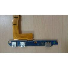 Плата USB NAOTO2 BA92-07772A со шлейфом Sub Board FPC BA41-01514A Samsung NS310