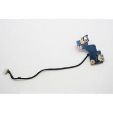 Плата USB с кнопкой включения BA92-07488A Scala2_USB_SUB Samsung RV511 RV515 RV520 RV711