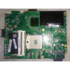 Материнская плата для ноутбука Asus K52F с процессором Intel Pentium P6000 и охлаждением