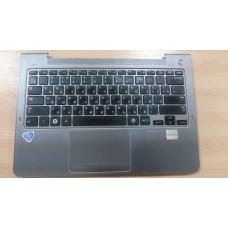 Верхняя панель топкейс topcase Samsung NP535U3C NP530U3C с клавиатурой BA75-04055M