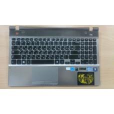 Верхняя панель топкейс topcase с клавиатурой Samsung NP550P5C