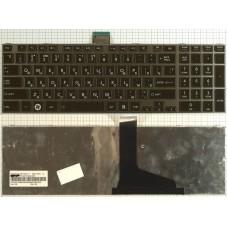 Клавиатура для ноутбука Toshiba Satellite C850 C855D L850D L855 L855D L870 L870D P850 серая рамка