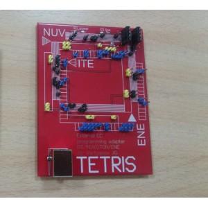 Плата расширения TETRIS для программатора мультиконтроллеров Вертьянова
